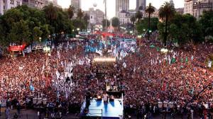 Despedida Cristina Fernandez de Kichner
