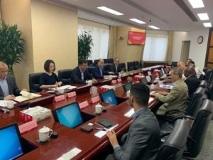 Meeting with China Bank