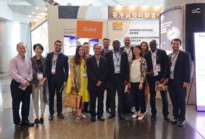 Meeting with Hong Kong Trade Development Council