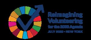 Reimagining volunteering UN Summit Logo