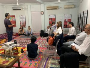 Meeting with Goonj India